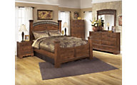 Ashley Timberline Queen Poster Bedroom Set