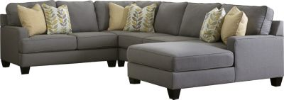Ashley Chamberly Right-Side Chaise 4-Piece Sectional