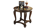 Ashley Norcastle Round End Table