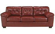 Ashley Alliston Salsa Bonded Leather Queen Sleeper