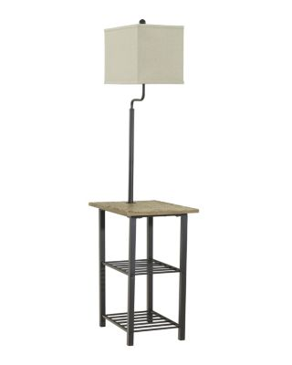 Ashley Shianne Metal Table Floor Lamp