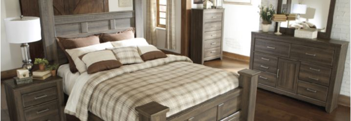 Ashley Juararo Master Bedroom Set