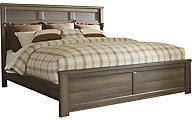 Ashley Juararo King Panel Bed