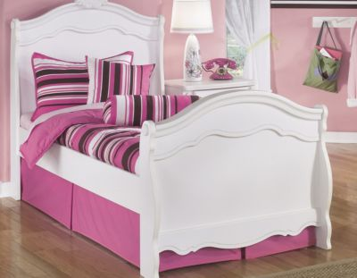 Ashley Exquisite Twin Sleigh Bed