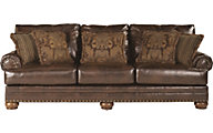 Ashley Chaling Bonded Leather Sofa