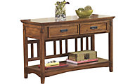 Ashley Cross Island Console Sofa Table