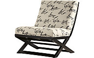 Ashley Levon Showood Armless Accent Chair