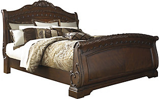 Ashley North Shore Queen Sleigh Bed