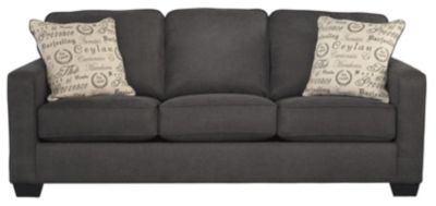 Ashley Alenya Charcoal Queen Sleeper Sofa
