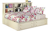 Ashley Cottage Retreat Full Bookcase Bed