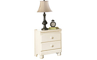 Ashley Cottage Retreat 2-Drawer Nightstand