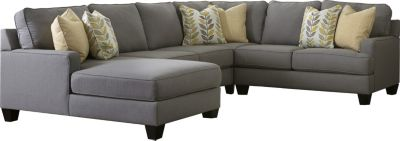 Ashley Chamberly Left-Side Chaise 4-Piece Sectional