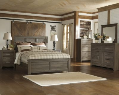 Ashley Juararo Queen Panel Bedroom Set