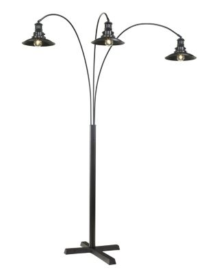 Ashley Metal Arc Floor Lamp