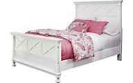 Ashley Kaslyn White Queen Bed