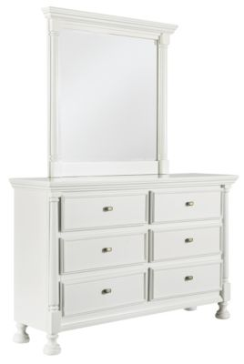 Ashley Kaslyn Dresser with Mirror