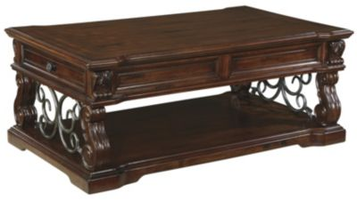 Ashley Alymere Lift-Top Coffee Table