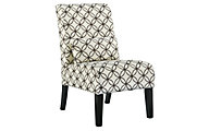 Ashley Annora Brown Armless Accent Chair