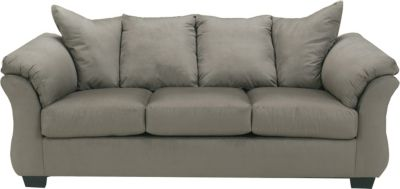 Ashley Darcy Microfiber Gray Full Sleeper