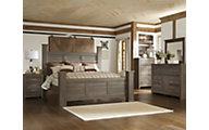 Ashley Juararo 4-Piece King Poster Bedroom Set