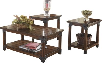 Ashley Murphy Coffee Table & 2 End Tables