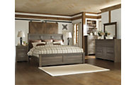 Ashley Juararo 4-Piece King Panel Bedroom Set