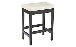 Ashley Kimonte Ivory Counter Stool