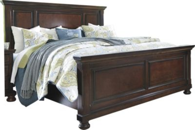 Ashley Porter King Panel Bed | Homemakers Furniture