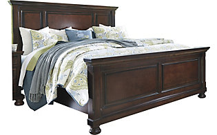 Ashley Porter King Panel Bed