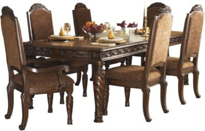 Ashley North Shore 7 Piece Dining Set Homemakers Furniture