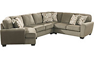 Ashley Patola Park Left-Side Cuddler 4-Piece Sectional