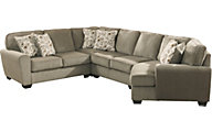 Ashley Patola Park Right-Side Cuddler 4-Piece Sectional