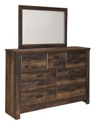 Ashley Quinden Dresser with Mirror