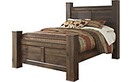 Ashley Quinden Queen Poster Bed