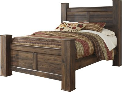 Ashley Quinden King Poster Bed