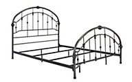 Ashley King Metal Bed