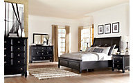 Ashley Greensburg 4-Piece King Storage Bedroom Set | Homemakers ...