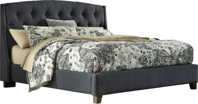 Ashley Kasidon Queen Upholstered Bed