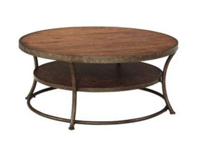 Ashley Nartina Round Coffee Table