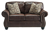 Ashley Breville Espresso Loveseat