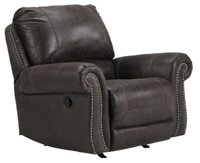 Ashley Breville Charocoal Rocker Recliner