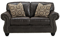 Ashley Breville Charcoal Loveseat