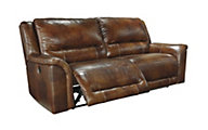 Ashley Jayron Leather Reclining Sofa