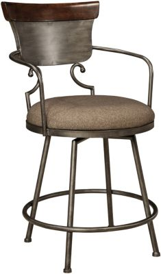 Ashley Moriann Swivel Counter Stool