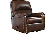 Ashley Lottie Chocolate Rocker Recliner