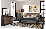 Ashley Harlinton 4-Piece Queen Panel Bedroom Set