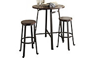 Ashley Challiman 3-Piece Bar Set