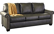 Ashley Lottie Gray Full Sleeper Sofa with Memory Foam
