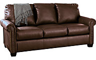 Ashley Lottie Brown Full Sleeper Sofa with Memory Foam