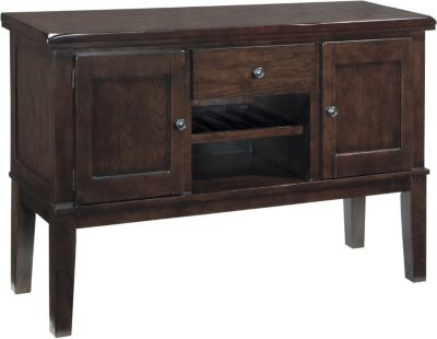 Ashley Haddigan Buffet with Wine Rack